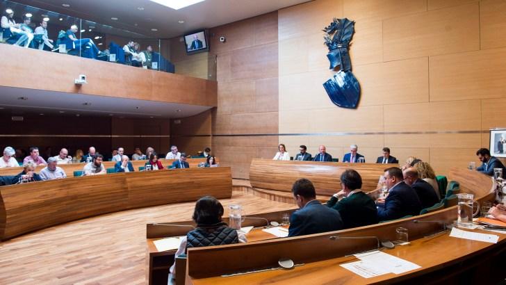La nueva Diputació la formarán 13 diputados del PSPV, 8 del PP, 5 de Compromís, 3 de C's, 1 de Vox y 1 de La Vall