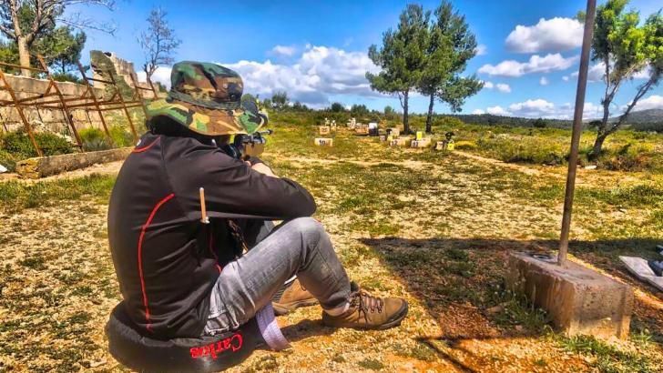 La ALFT organiza la tercera tirada de Hunting Field Target este domingo en Buñol