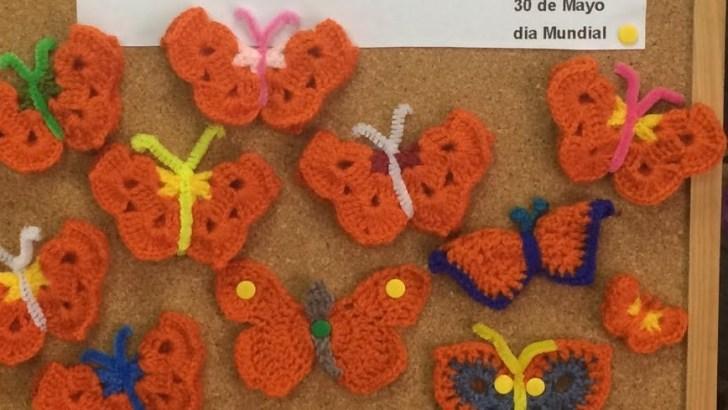 El Ganchillo Solidario de Buñol emprende una iniciativa para visibilizar la esclerosis múltiple