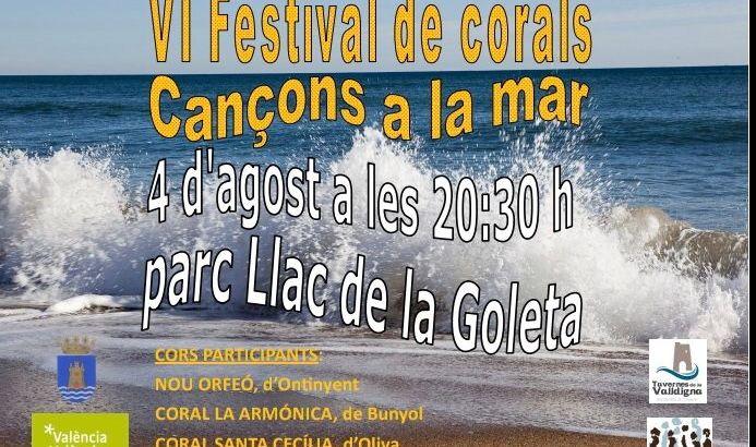 La Coral de «La Armónica» de Buñol participará VI Festival de corals «Cançons a la mar»