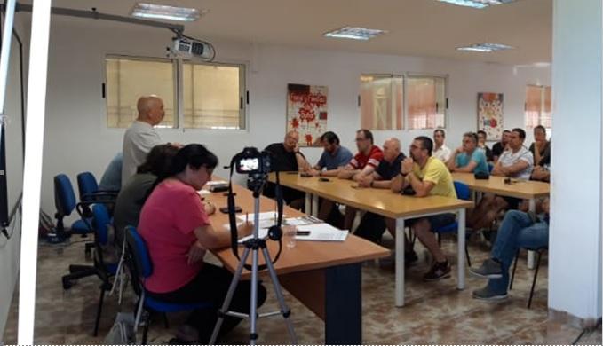 Los representantes de CCOO en la comarca «apoyan de forma contundente y masiva» a Emilio Lamas