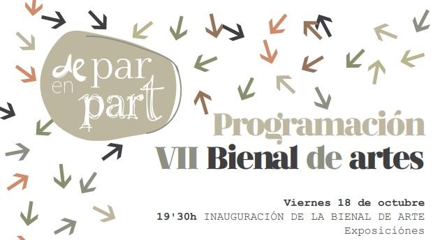 La Bienal de Arte y Diseño y el Festival «De Par en Par-t» llenarán de cultura el mes de octubre en Buñol