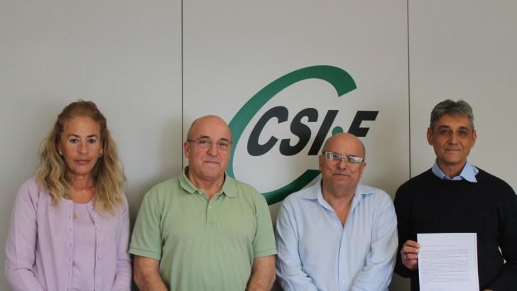 CSIF se reúne con la Plataforma Pro Hospital y reclama un centro para enfermos crónicos en la Hoya de Buñol-Chiva