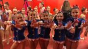El equipo Benjamín del Club de Gimnasia Rítmica de Buñol acaba sexto en el Campeonato de España