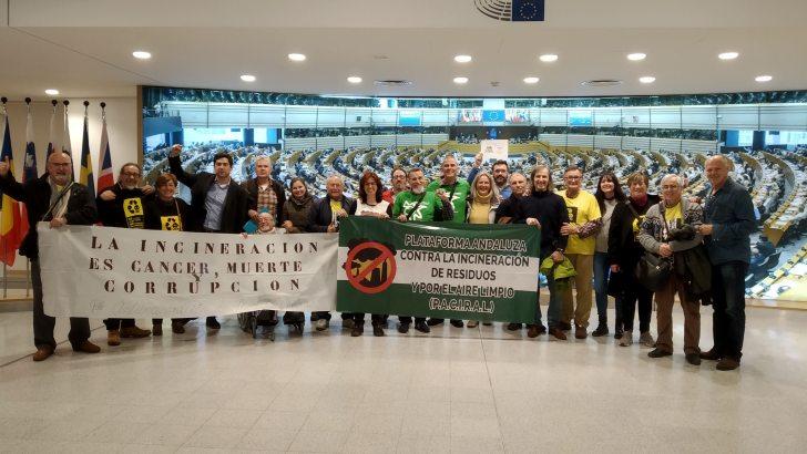 La Plataforma Aire Limpio en La Hoya de Buñol consigue que el Parlamento Europeo investigue los efectos de la incineración