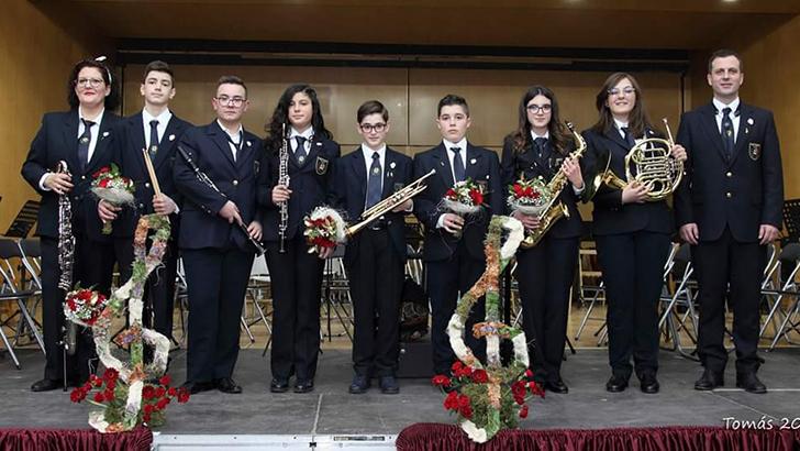 La Sociedad Unión Musical de Yátova festeja Santa Cecilia