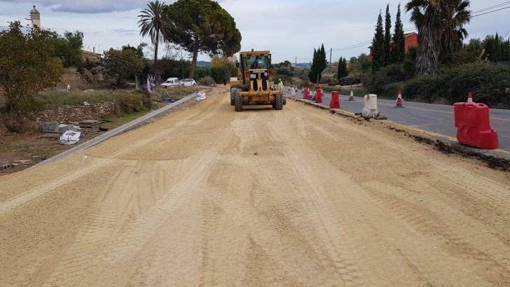 La Diputació avanza la construcción de la vía ciclopeatonal de 3 kilómetros que unirá Macastre y Yátova