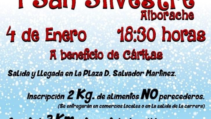 Abierto el plazo de inscripción para la I San Silvestre solidaria de Alborache
