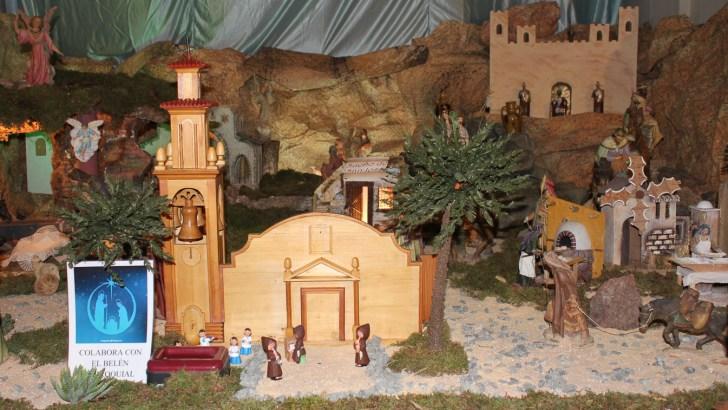 Las imágenes de la inauguración del Belén de la Parroquia San Pedro de Buñol
