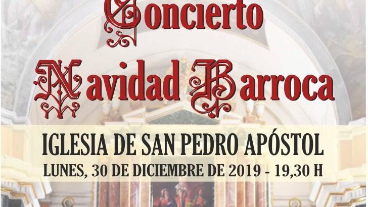La Iglesia San Pedro Apóstol acogerá el 30 de diciembre el concierto «Navidad Barroca»