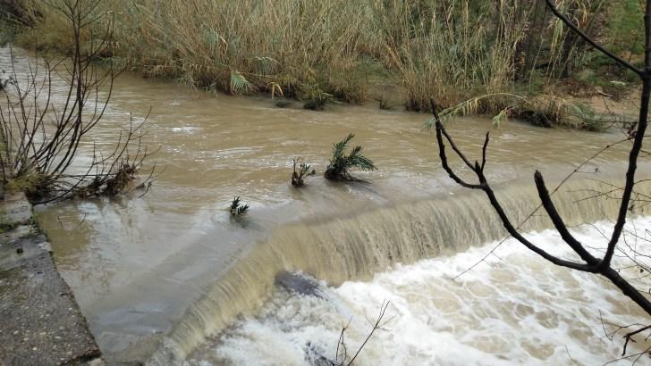 La borrasca Gloria deja en Buñol más de 200 litros por metro cuadrado (imágenes)