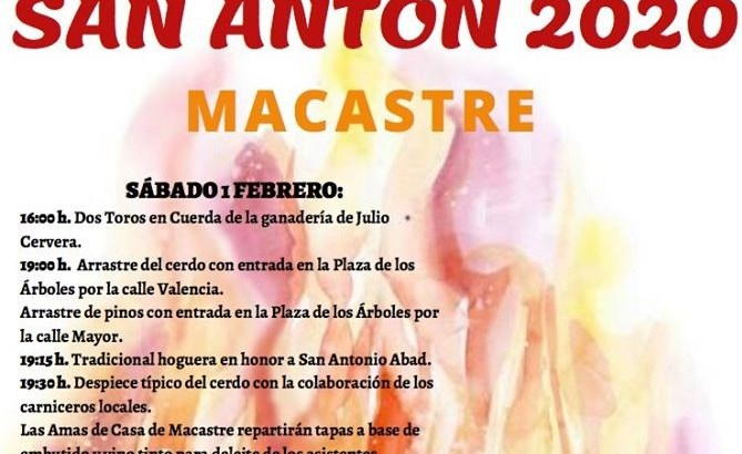 Macastre celebra este fin de semana la festividad de «San Antón»