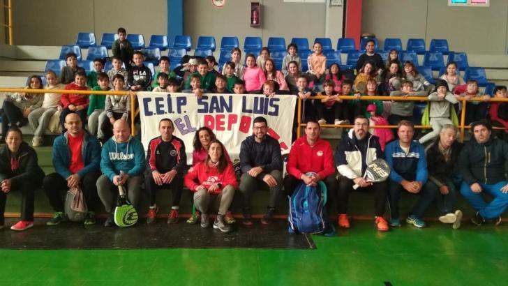 El «Día de la Raqueta» se consolida en el Colegio San Luis de Buñol
