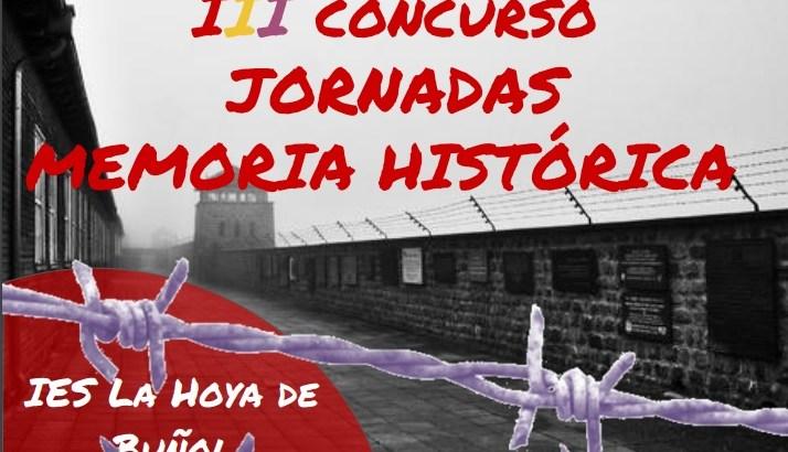 Concluye el III Concurso por la Memoria Histórica organizado por el IES La Hoya de Buñol