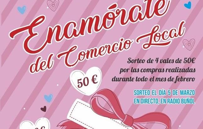 La Asociación de Comerciantes de Buñol lanza su campaña de «San Valentín»