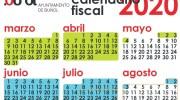 Los buñolenses ya tienen el calendario fiscal municipal en sus domicilios