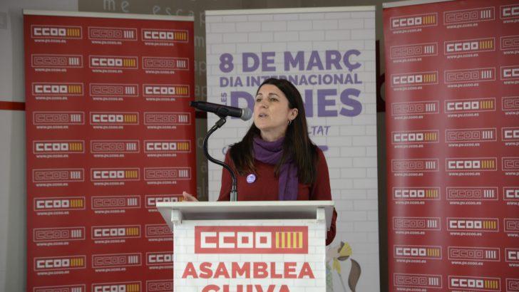 """Cloti Iborra: """"Acudid al sindicato a solicitar el asesoramiento necesario para que nuestra acción sindical frene desigualdades"""""""