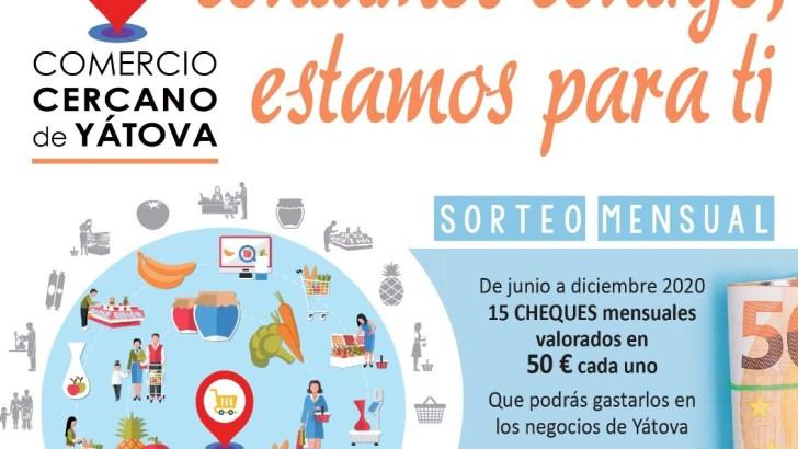 Arranca en Yátova la campaña para reactivar el comercio local: «Contamos contigo, estamos para ti»