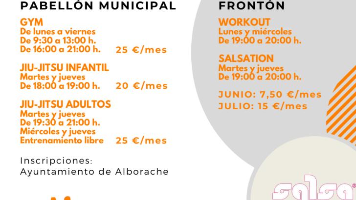 Vuelven las actividades deportivas a Alborache