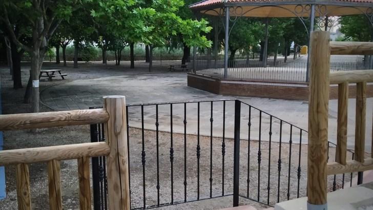 El Parque de San Vicente de Yátova, desde ahora, más accesible