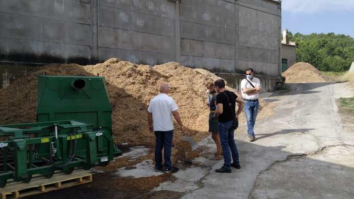 Sigue dando pasos el proyecto de potenciación de las energías limpias en Yátova