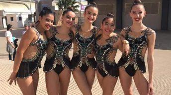 El Club Gimnasia Rítmica de Buñol participa en el Campeonato Nacional Base Individual