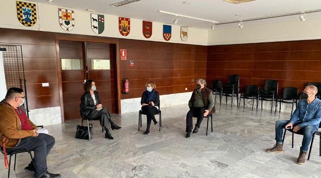 Alborache inicio de la campaña contra la exclusión financiera de los municipios del interior