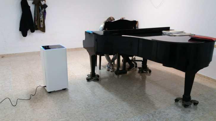 El CIM «La Armónica» de Buñol adquiere purificadores de aire para su escuela de música