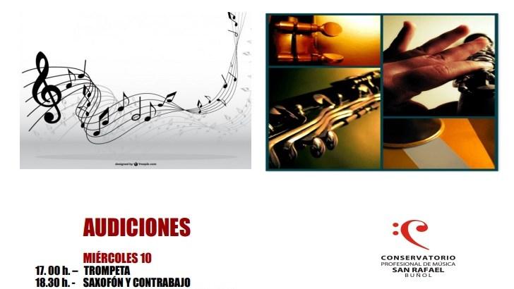 El Conservatorio de Buñol prepara sus audiciones del segundo trimestre