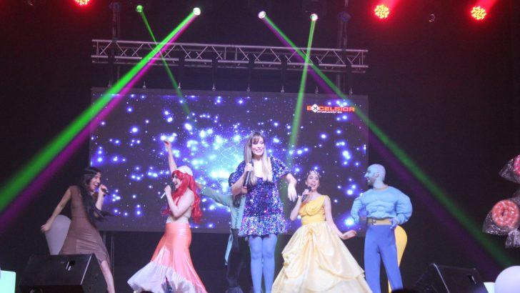 Las imágenes de la actuación de Gisela en Buñol
