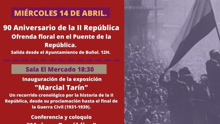 El Ayuntamiento de Buñol organiza las I Jornadas de Memoria Histórica y Democrática