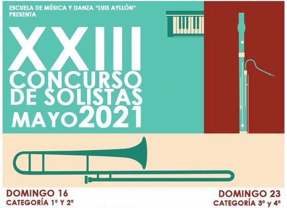 «La Artística» de Buñol organiza la 23ª Edición del Concurso de Solistas «Luis Ayllón»