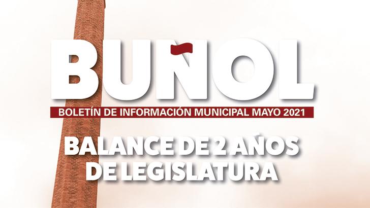 El Ayuntamiento de Buñol recoge en su BIM, el año de Gobierno durante la pandemia
