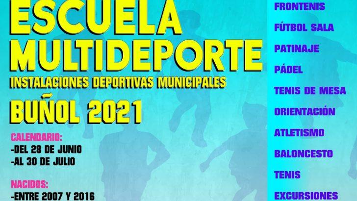 Regresa la Escuela Multideporte a Buñol este verano