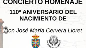 Alborache celebra un concierto homenaje a José María Cervera Lloret