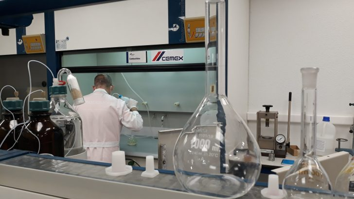 Cemex inaugura las nuevas instalaciones de su laboratorio central ubicado en Buñol