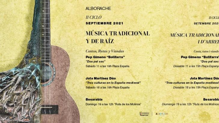 """Alborache cierra el II Ciclo de Música Tradicional y de Raíz """"Cantos, Rutas y Viandas"""""""