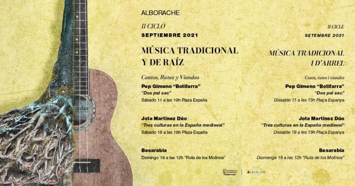 II Ciclo de música tradicional y de raíz- Alborache