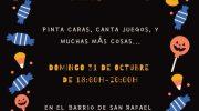 Vuelve Halloween al Barrio San Rafael de Buñol