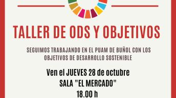El PUAM de Buñol organiza un nuevo taller para fijar los objetivos de la Agenda 2030