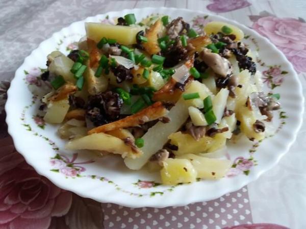 Сморчки с картошкой - как приготовить вкусно?