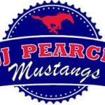 jj pearce mustangs logo