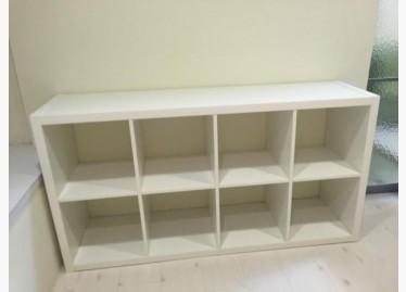 二手收納櫃出售,3層,IKEA TROMSÖ高腳床架 - 591居家/家具