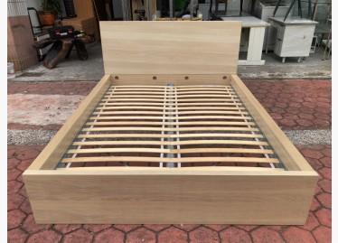 二手雙人床架出售,收納袋,pchome,但緊記產品一經改裝或改動,IKEA染白橡木 雙人5尺床框 - 591居家/家具