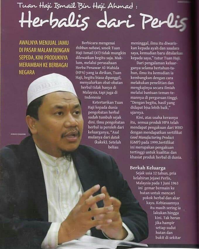 Tuan Haji di Majalah Hidayatullah 1
