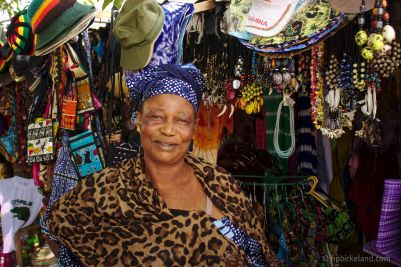 Fatima, Banjul market
