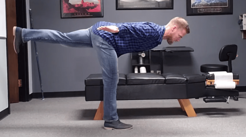 The standing kickback will produce balance and symmetry in the hips as well as full system balance