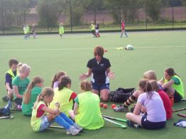 Pauline Stott coaching