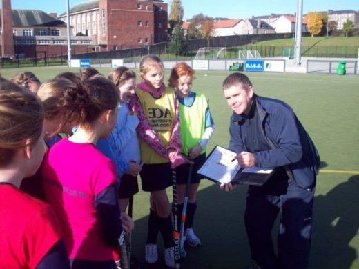 David Stott coaching