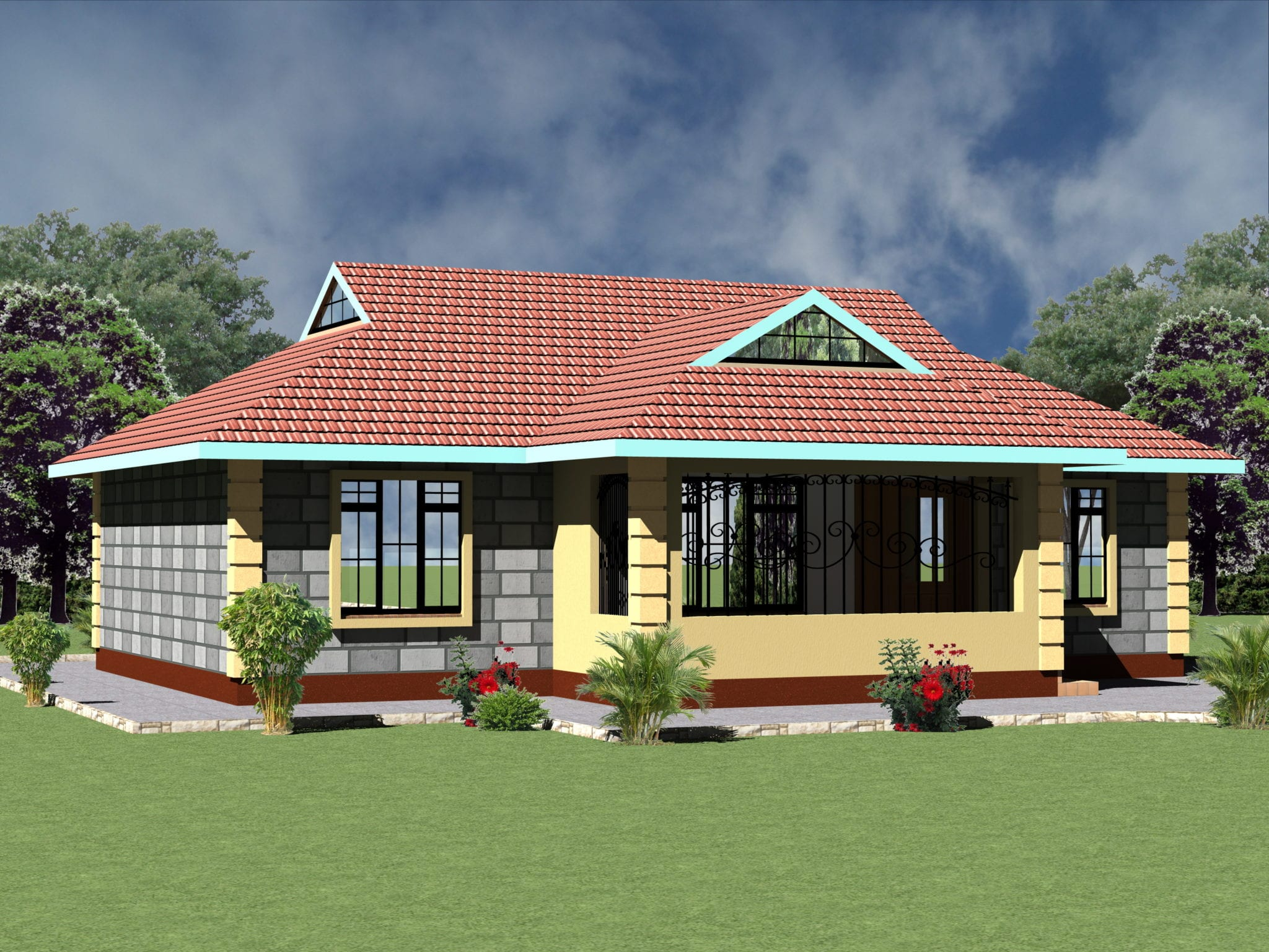 4 Bedroom House Plans And Designs Novocom Top